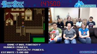 SGDQ 2013 - Final Fantasy V Speedrun
