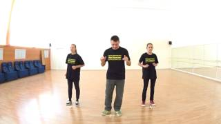 [ПОЛЕЗНОСТИ] #020 DOWN BODY: Back-Forward (Rocking) | HIP HOP DANCE LESSON