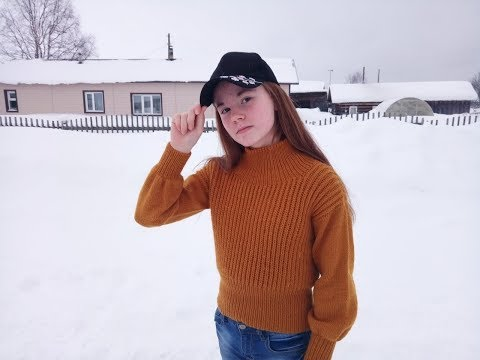 Модный свитер для девочки подростка//Подробный МК//ЧАСТЬ ПЕРВАЯ