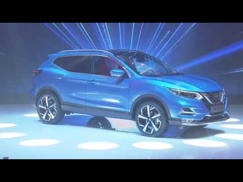 Nissan unveils new Qashqai at the Geneva International Motor Show 2017
