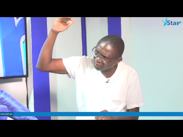 Caoch Pa Samba Jaw: Barrow's government is a government of billboards