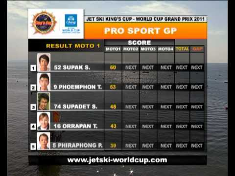 JET SKI World Cup 2011 - PRO SPORT GP 1/2