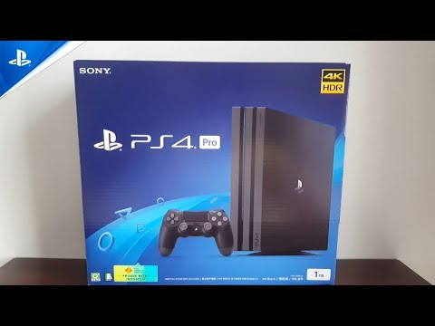 SONY PS4 PRO CUH - 7218B JET BLACK 1TB UNBOXING & REVIEW (INDONESIA)