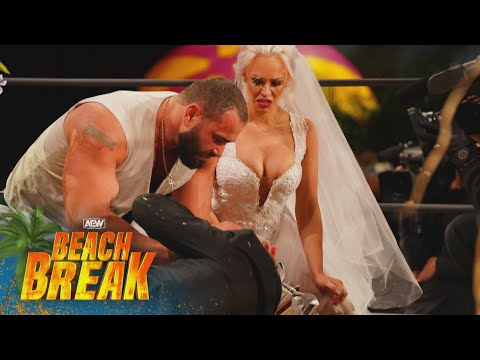 What in he World Did We Just Watch? Was this the Craziest Wedding Ever | AEW Beach Break
