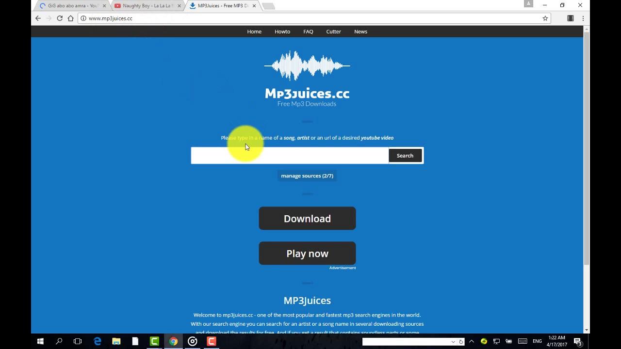 كيفية تحميل اغاني على الكمبيوتر mp3
