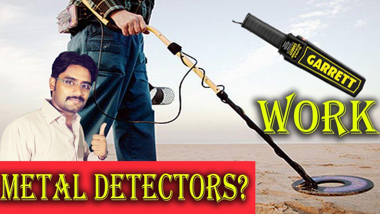 Metal Detectors Security Check Gold Mining Explained In Hindi Detector Diagram Urdu Youtube