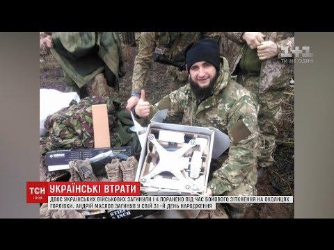 Двоє українських військових