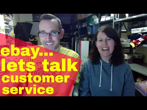 Sunday Live show - Lets talk about customer service when selling on ebay