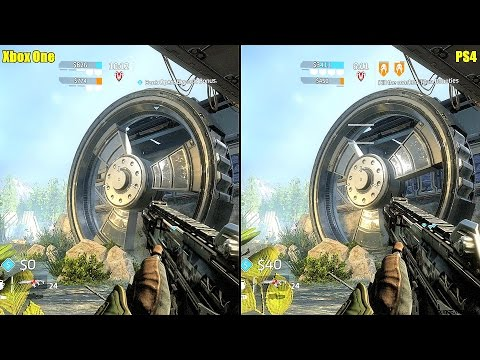 Titanfall 2 Tech Test PS4 Vs Xbox One Graphics Comparison