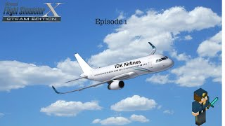 Flight Simulator X Episode 1 KSFO-KLAX