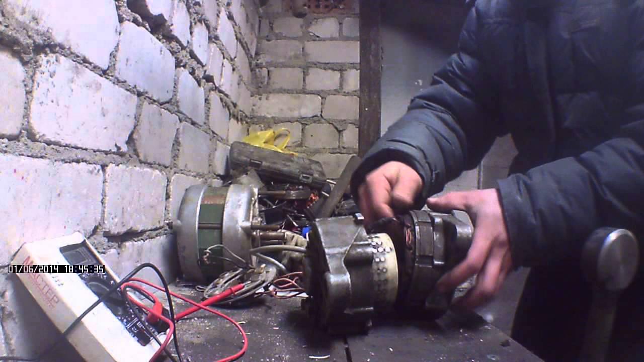 Ветрогенератор своими руками из автомобильного фото 884