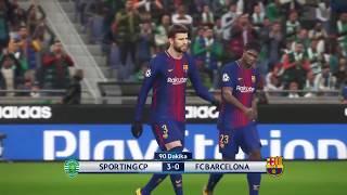 ►✪ PS4 Pro | Champions League | Sporting Lizbon - Barcelona