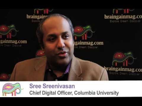 Sree Sreenivasan, Chief Digital Officer, Columbia University