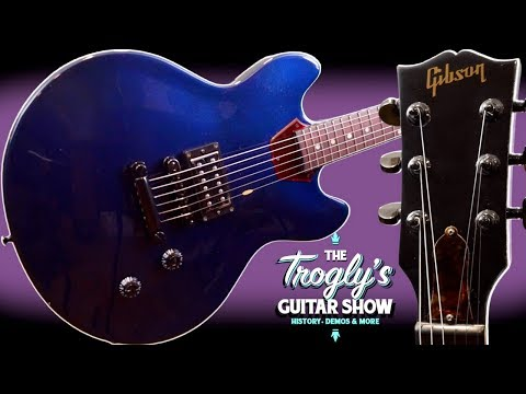 The Seller Asked Me To Do This... | 2013 Gibson Memphis ES-339 Studio Midnight Blue 1 Pickup Review