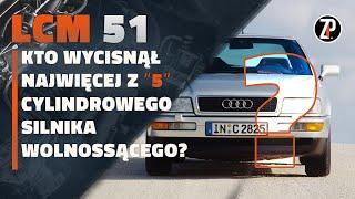 Top najmocniej WYKRĘCONE 5 cylindrowe silniki wolnossące!? | LC M51