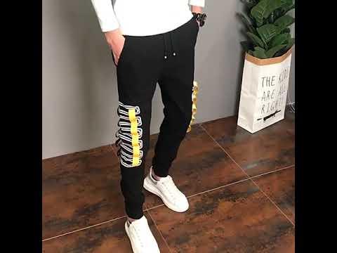 Pantalones Cargo Ajustados Coreanas Para Hombre Ropa De Moda Combina Con Todo Korean Style Youtube