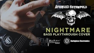 Download Avenged Sevenfold - NIGHTMARE Bass Playthrough Cover by Canuto  // Neural DSP Microtubes B7K Ultra