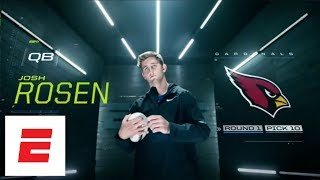 Arizona Cardinals move up to take Josh Rosen with No. 10 overall pick in 2018 NFL draft | ESPN