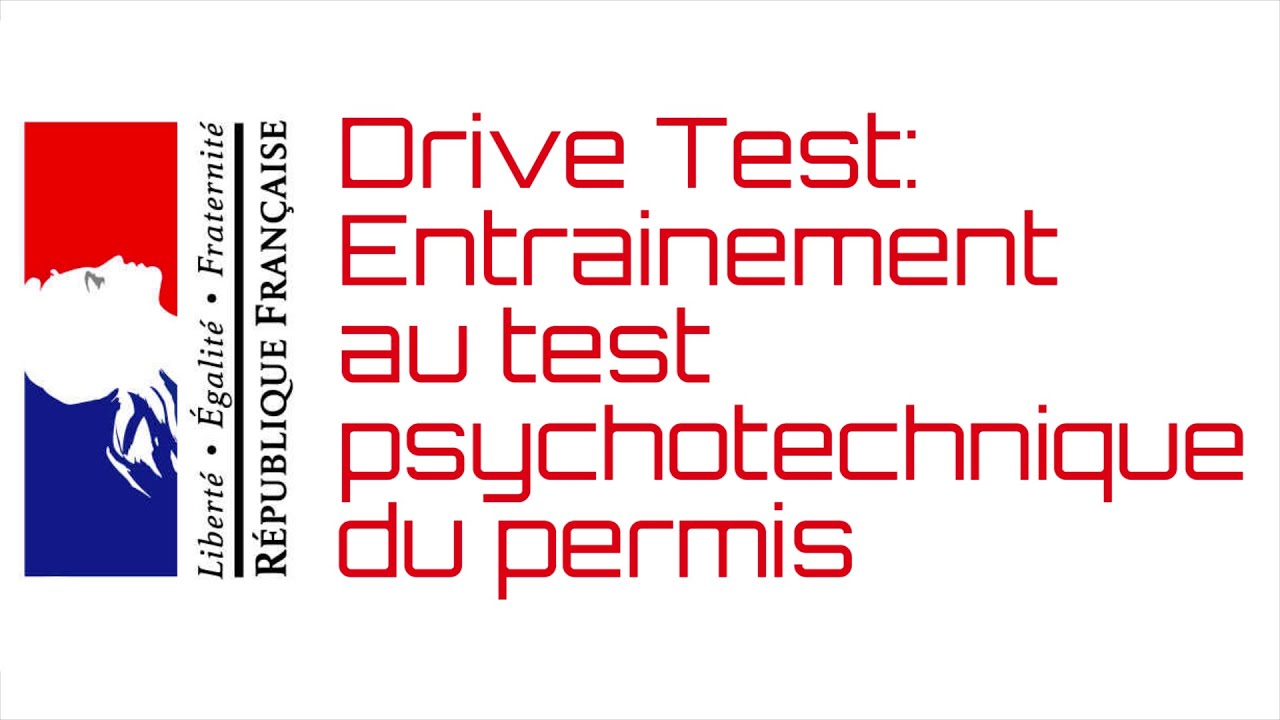 drivetest logiciel d 39 entrainement au test psychotechnique du permis de conduire youtube. Black Bedroom Furniture Sets. Home Design Ideas