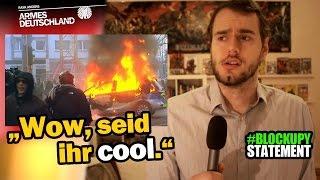 """""""Wow, seid ihr cool."""" #Blockupy-Statement [ARMES DEUTSCHLAND]"""
