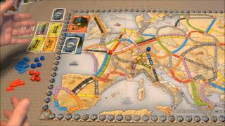 DGA Reviews: Ticket to Ride: Europe - Europa 1912 Expansion (Ep. 160)