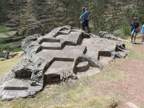 Exploration Of Megalithic Chinchero In The Highlands Of Peru
