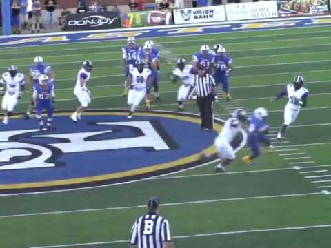 Southeastern Oklahoma State University vs  Ouachita Baptist Week 2 Highlights 2016