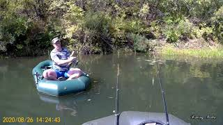 Сплав и ловля щуки. Река Бузулук. Рыбалка на воблеры. 27 августа 2020