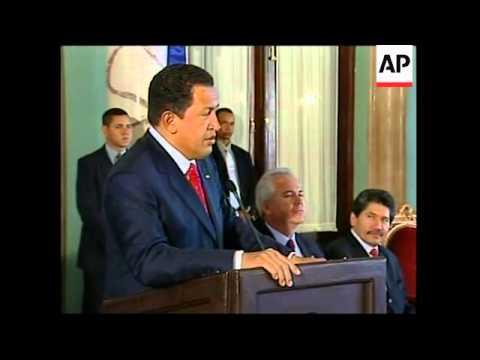 Venezuelan President visits Dominican Republic