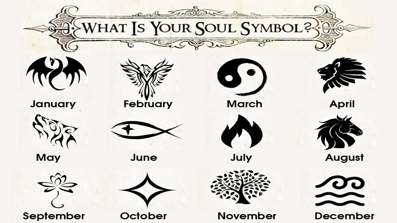 What Is Your Soul Symbol Your Birth Month Has The Answer Top10