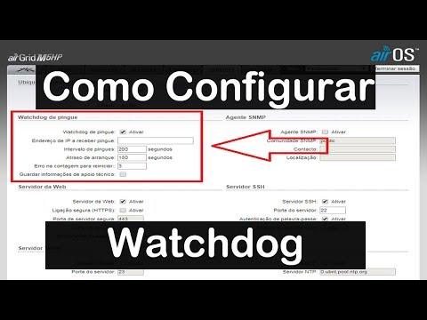Como Configurar ping WatchDog nos equipamentos ubiquiti