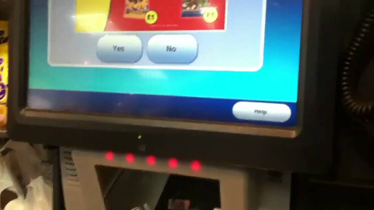 Brand New Ncr Self Service Checkouts At Whsmith In