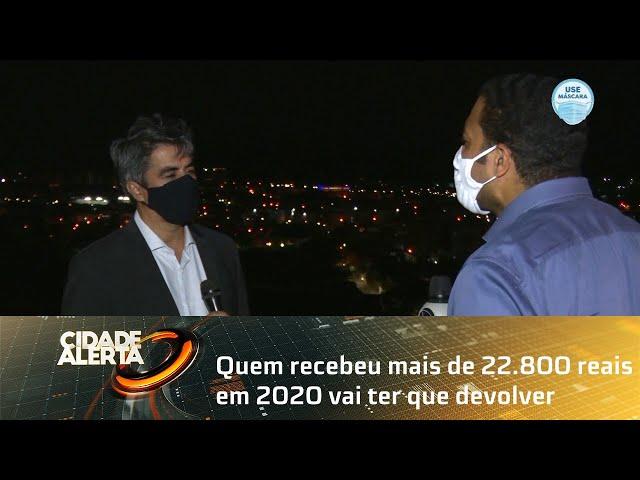 Quem recebeu mais de 22.800 reais em 2020 vai ter que devolver o auxílio emergencial