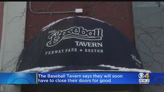 Baseball Tavern In Boston To Close Soon