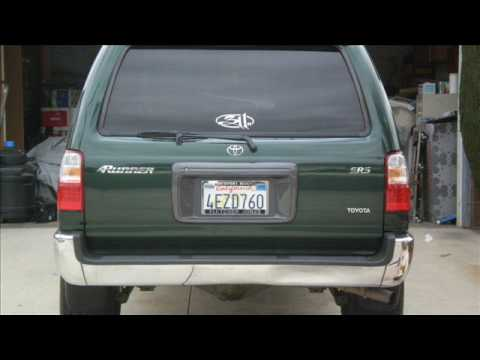 Toyota 4runner Led Tail Light Installation Youtube