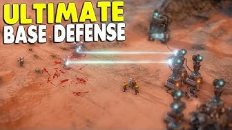BEST ULTIMATE BASE DEFENSE SIMULATOR | MarZ: Tactical Base Defense  Campaign Mission Gameplay