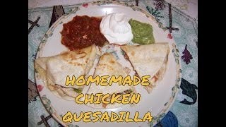 Brendas Homemade Quesadilla