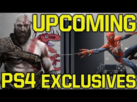 All UPCOMING NEW PS4 games & their RELEASE DATE (PS4 exclusive games - PS4 pro games 2017/2018/2019)