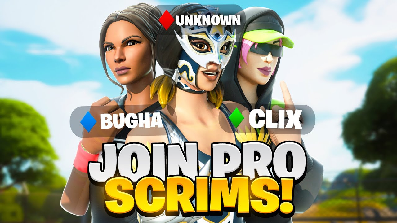 Download How To Join PRO Fortnite SCRIMS! (Elite, Prac, & More!)