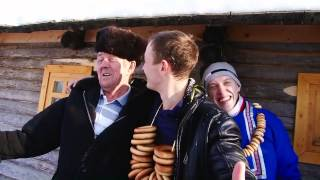 Свадебное видео Прогулка свадьба в стиле сказки Морозко