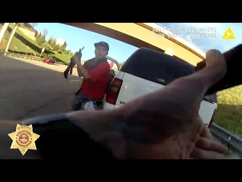 RAW: Body camera footage of sheriff