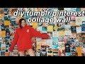DIY Tumblr Collage Wall
