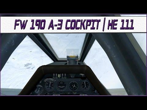 IL2 Battle of Stalingrad: FW190 Cockpit Update (!) & He 111