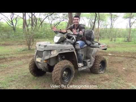 Polaris Sportsman 500 H.O. ATV Test Ride Review And Off-Roading Experience
