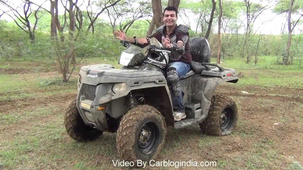 polaris sportsman 500 h o atv test ride review and off roading experience youtube. Black Bedroom Furniture Sets. Home Design Ideas
