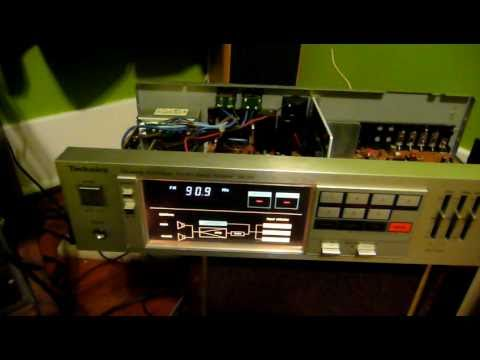 Inside The Mystery Speakers / Technics SA-150 Receiver