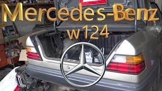 Мерседес из прошлого/ Mercedes-Benz W124 1986 года/ Тюнинг - замена двигателя, замена салона и т.д.
