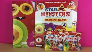 album de guia de star monsters pocket friends de magicbox toys