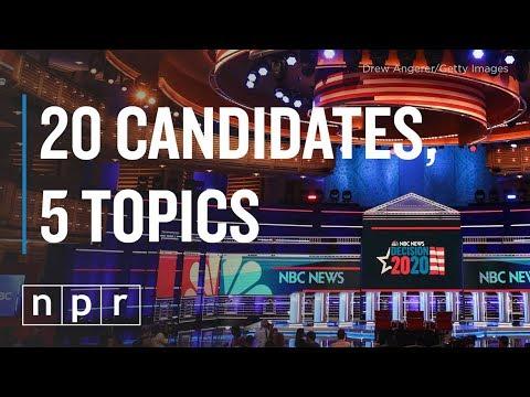 Second US Democratic debate: Schedule, candidates, issues