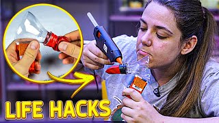 TESTANDO LIFEHACKS VOLTOU!